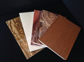 Decorative glass magnesium oxide board
