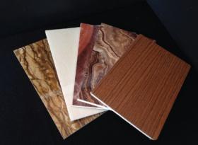 Decorative glass magnesium oxide board