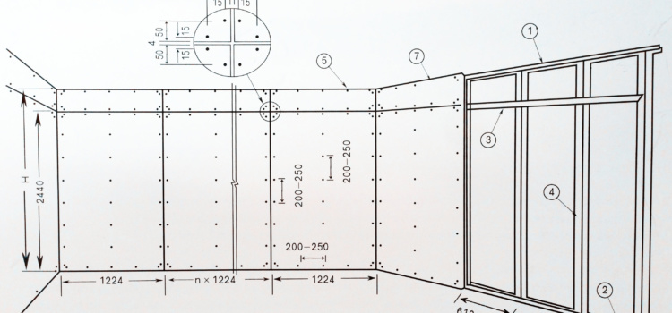 How to inatall mgo board for partition wall?
