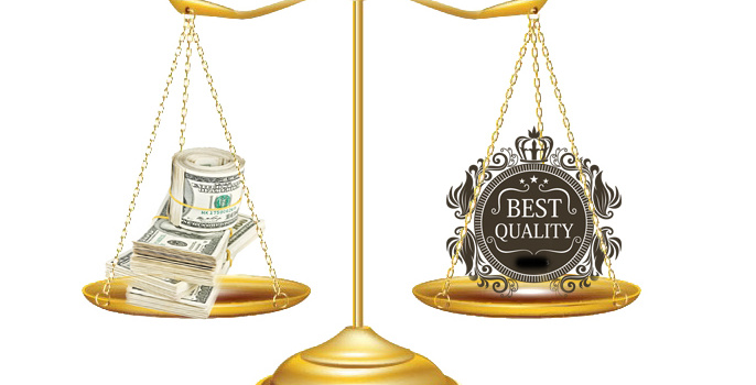 Choose low prices or choose quality?
